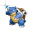 Blastoise Pokémon normal select.ani Preview