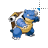 Blastoise Pokémon left select.ani Preview