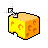 Mouse & Cheese diag resize right .ani Preview