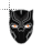 Black Panther fire eyes mask normal select.ani Preview