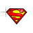 Superman Logo Normal Select.ani Preview