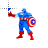 Captain America II normal select.ani Preview