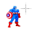 Captain America thumbs up left select.ani Preview