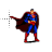 Superman Cape normal select.ani Preview