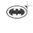 Batman Bling Logo left select.ani Preview