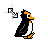 penguin spin diag resize right.ani Preview