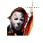 Michael Myers left select.ani Preview