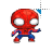 Spiderman 8-bit left select.ani Preview