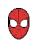 Spiderman mask cycle busy.ani Preview