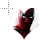 Deadpool shock heart normal select.ani Preview
