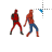 Spideypool dance left select.ani Preview