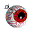Red Eye diagonal resize right.ani Preview