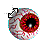 Red Eye diagonal resize left.ani Preview