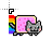 Nyan Cat normal select.ani Preview