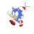 Sonic the Hedgehog I left select.ani Preview