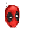 Deadpool head normal select.ani Preview