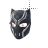 Black Panther mask II left select.ani Preview