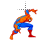 Spiderman walk normal select.ani Preview