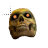 skull with fire ball eyes normal select.ani