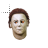 Michael Myers with fire ball eyes normal select.ani Preview