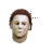 Michael Myers with fire ball eyes left select.ani