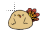Chibird turkey normal select.ani Preview