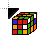Rubic's cube solved itself.ani Preview