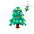 Xmas tree 8-bit left select.ani Preview