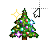 Xmas tree 8-bit II left select.ani Preview