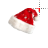 Santa Hat left select.ani Preview