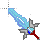 pixel sword.ani Preview
