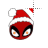 Deadpool fire eyes Santa left select.ani Preview