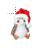 Santa Porg normal select.ani Preview