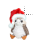 Santa Porg left select.ani Preview
