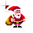 Santa Waves normal select.ani Preview
