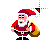 Santa Waves left select.ani Preview