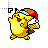Xmas Pikachu normal select.ani Preview