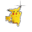 pikachu left select.ani Preview