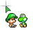Yoshi & Mario normal select.ani Preview