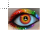 rainbow eye normal select.ani Preview