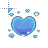blue_heart_icon .ani Preview
