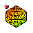 D20 Rainbow 1.ani Preview