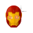 Iron Man Mask II left select.ani Preview