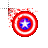 Captain America shield fire normal select.ani Preview
