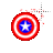 Captain America shield fire left select.ani Preview