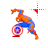 Captain Spiderman left select.ani Preview