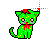 zombie cat II normal select.ani Preview