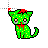 zombie cat II left select.ani Preview