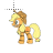 AppleJack MLP normal select.ani Preview