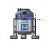 R2-D2 tap left select.ani Preview